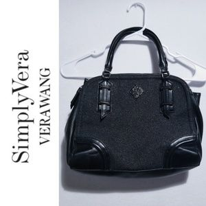 Simply Vera by Vera Wang Black Shoulder Purse